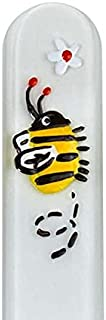 Bee 手绘正品捷克共和国水晶*锉,带配套亚克力盒 - 中号