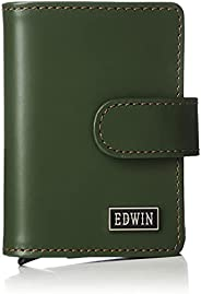 Edwin 旅行用卡套 意大利皮革 纸币收纳 零钱收纳 再生皮革