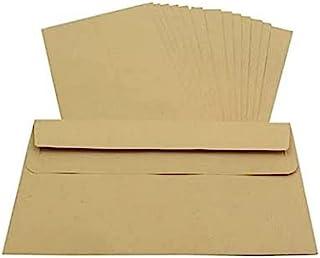 Packitsafe 20 x DL 尺寸普通信封 110 毫米 x 220 毫米自封马尼拉(棕色)标准纸信封