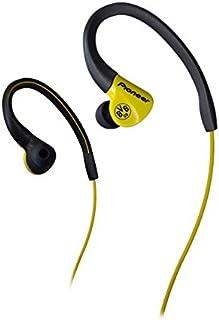 Pioneer SE(黄色)E3BVB 防溅运动入耳式耳机带耳线-黄色
