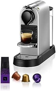 Krups 克鲁伯 Nespresso XN741B 意式独立咖啡机 单杯式,银色