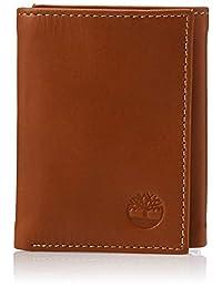 Timberland 男式皮革钱包 带证件袋 三折式