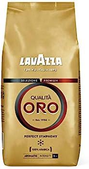 Lavazza 金質咖啡豆,1包裝(1 x 1kg)