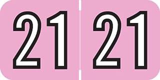 Doctor Stuff - 2021 年贴纸,玫瑰色/黑色标签,Barkley FYCPM 兼容系列,500/卷,1 卷,3/4 英寸 x 1-1/2 英寸