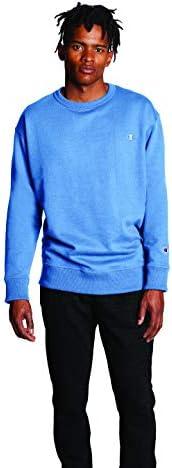 Champion 男士强力混合套头运动衫