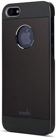 moshi - iGlaze Armour - iPhone 5/5s/SE 手机壳 - 黑色