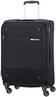 Samsonite 新秀丽 Base Boost带旋转轮的旅行箱66厘米,黑色,M (66cm-73.5L)