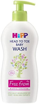 HiPP 婴儿洗头膏,400ml(6瓶),2400毫升