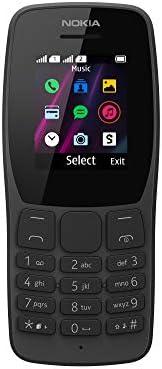 Nokia 諾基亞 110-2G 無鎖雙卡功能手機 - 1.7 英寸屏幕 - 黑色