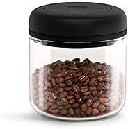 Fellow 真空容器,用于存储咖啡和食品,内置真空泵,热密封 0.7 升清洁玻璃
