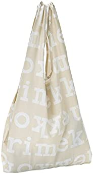Rimekco 包 环保包 购物袋 智能包 Logo 商标 米色×米白色 049527 810 [平行商品]