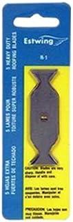 Estwing R-1 替换刀片,适合车顶刀 RK-7,2.5 英寸,5 件装