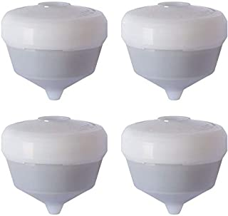 Siroflex Set 4 备用墨盒 UNI 3-A 澄净器水龙头净水器通用水龙头厨房水精加工用于去除含活性炭过滤器的氯