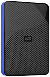 Western Digital 西部数据 4TB 游戏驱动器 与Playstation 4配合使用 便携式外置硬盘-WDBM1M0040BBK-WESN