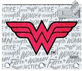 Vaultz 锁定活页夹袋,8 英寸 x 10 英寸 Wonder Woman