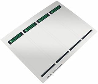 Leitz 文件夹标签适用于 pc 8厘米, 100件 Breit 灰色
