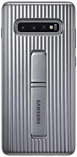 Galaxy S10+ 保护站立手机壳EF-RG975CSEGWW  银