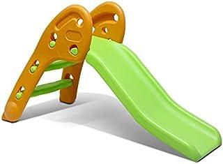 折叠滑梯,室内*张滑梯塑料游戏滑梯攀岩儿童(橙色*)..