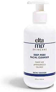 EltaMD 深层毛孔清洁洁面乳,8盎司(约226.80克),236毫升