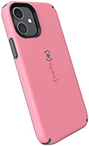 Speck Products CandyShell Pro iPhone 12,iPhone 12 Pro 手机壳,复古玫瑰/灰