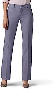 Lee 女式 Secretly Shapes 常规修身直筒裤