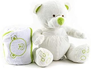 Duffi 婴儿沐浴毯,80 x 80 厘米 颜色 开心果主宝宝家庭,S.L. 5128-02