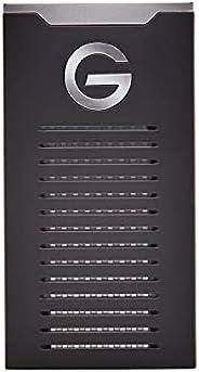 SanDisk 闪迪 Professional G-DRIVE 2TB SSD超坚固便携式外置 NVMe SSD,高达 1050MB/s,USB-C(10Gbps),USB 3.2 Gen 2