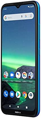 Nokia 諾基亞 1.4 智能手機,帶 6.51 英寸高清+ 顯示屏,Camera Go,4000 mAh 電池容量,Qualcomm 處理器,指紋傳感器,Android 10,Dual-SIM,RAM 2GB,ROM