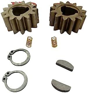 2 个正品 42661-VH7-000 割草机轮驱动齿轮钥匙,2 个弹簧和 2 个夹子