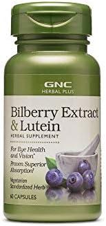 GNC 健安喜 Herbal Plus 山桑子提取物 + 叶黄素 60