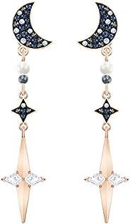 Swarovski 施华洛世奇 女式 水晶星月亮 耳环