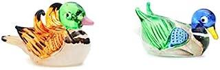 ChangThai Design 甜美可爱蜜蜜蜂鸭手工制作迷你手工棕色玻璃女郎系列