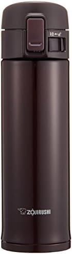 ZOJIRUSHI 象印 水杯 直饮 不锈钢保温杯 480ml 波尔多色 SM-KC48-VD