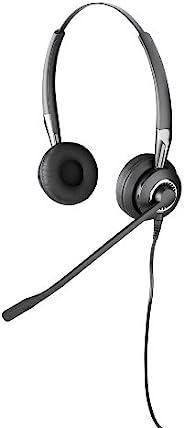 Jabra BIZ 2400 IP Duo 有线耳机,适用于 IP 台式电话