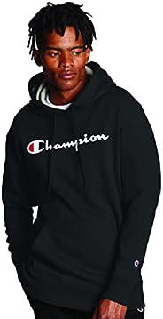 Champion Powerblend 男士印花羊毛抓绒连帽衫