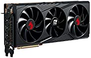 PowerColor Red Dragon AMD Radeon RX 6800 XT 游戏显卡,带 16GB GDDR6 内存,由AMD RDNA 2、Raytracing、PCI Express 4.0、HDMI 2