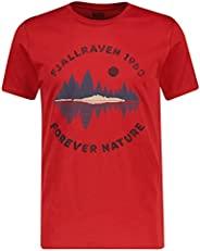 FJÄLLRÄVEN 瑞典北极狐 Forest Mirror 男士 T 恤 M