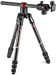 Manfrotto 曼富图 Befree GT XPRO 碳:三脚架带球头496,M - Lock系统,90度柱,200PL-PRO板,适用于数码单反或带长镜头的CSC相机,微距摄影,碳,MKBFRC4GTXPBH