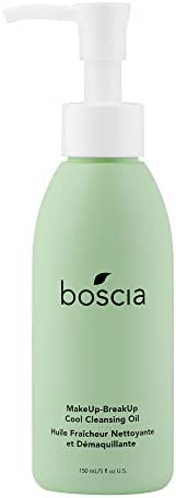 boscia MakeUp-BreakUp 清凉洁面卸妆油-纯素,无残酷,天然清洁护肤,天然油基卸妆液,150毫升