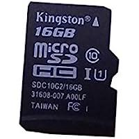 Kingston Digital 16GB microSDHC Class 10 UHS-I 45MB/s 读卡带 SD…