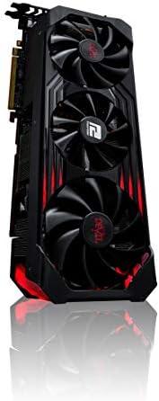 PowerColor 搭载AMD Radeon RX6800XT 显卡 原创风扇 [AXRX 6800XT 16GBD6-3DHE/OC]