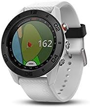 Garmin Approach S60 帶觸摸屏和全彩課程視圖映射的特殊GPS高爾夫手表,白色