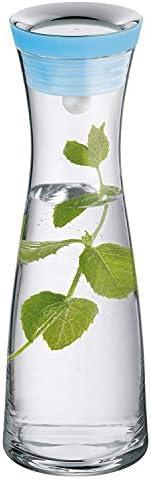 WMF 福騰寶 Basic系列細頸玻璃瓶1.0L 藍色 617706790
