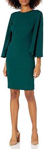 Calvin Klein 女士圆领紧身裤,分袖