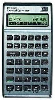 HP 17 BII+ 计算器