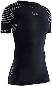 X-BIONIC 女式 Invent 4.0 轻质圆领短袖 T 恤