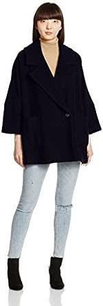(snidel)snidel A型宽松肥大版大衣 SWFC164015