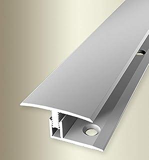 Parkettfreund 64201004 过渡型材PF 558 铝制银色,阳极氧化处理,100厘米