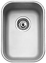 Franke 10125003 BE 280/400 厨房水槽,茶卡单碗,灰色