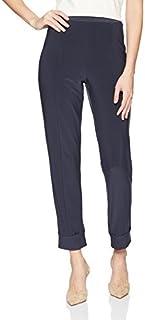 Sympli 女式 Hepburn 长裤及踝长度带口袋